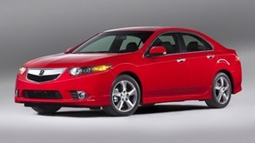 acura, tsx, 2011, red, side view, style, auto, acura - wallpapers, picture