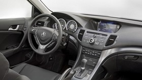 acura, tsx, salon, interior, steering wheel, speedometer - wallpapers, picture