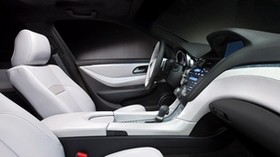 acura, zdx, 2009, concept car, salon, interior, steering wheel - wallpapers, picture
