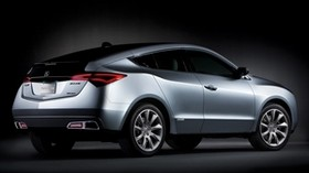 acura, zdx, 2009, concept car, metallic gray, side view, style, auto, acura - wallpapers, picture