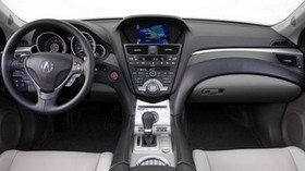 acura, zdx, 2009, salon, interior, steering wheel, speedometer - wallpapers, picture