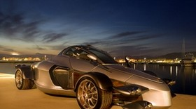 ad, tramontana, unusual, lights, tires, water - wallpapers, picture