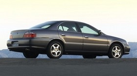 acura, 2002, gray, side view, style, acura, tl, auto, asphalt - wallpapers, picture