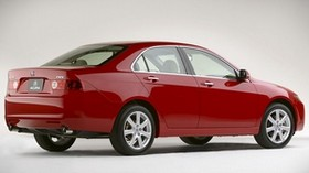 acura, 2003, red, side view, style, acura, tsx, auto - wallpapers, picture