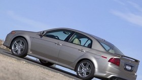 acura, 2004, metallic gray, side view, style, acura, tl, auto, sky, asphalt - wallpapers, picture