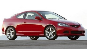 acura, 2005, red, side view, style, acura, rsx, auto, asphalt - wallpapers, picture