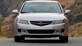 acura, 2006, silver metallic, front view, style, auto, acura, tsx, nature - wallpapers, picture