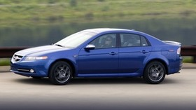 acura, 2007, blue, side view, style, acura, tl, auto, speed, nature - wallpapers, picture