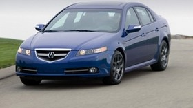 acura, 2007, blue, front view, style, auto, acura, tl, speed, nature - wallpapers, picture