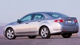 acura, 2008, silver metallic, side view, style, auto, acura, tsx, sky - wallpapers, picture