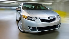 acura, 2008, silver metallic, front view, style, acura, tsx, auto, speed, drift - wallpapers, picture