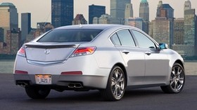 Akura, 2008, silver metallic, rear view, auto, style, city, asphalt - wallpapers, picture