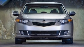 acura, 2008, metallic gray, front view, style, auto, acura, tsx, parking - wallpapers, picture