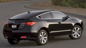 acura, 2009, black, rear view, style, auto, acura, zdx, nature - wallpapers, picture