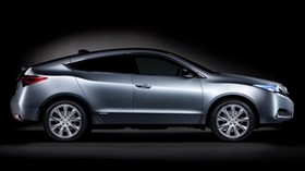 acura, 2009, concept, gray, side, acura, zdx - wallpapers, picture