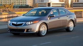 acura, 2009, gray, side view, style, auto, acura, tsx, v6, speed, city, asphalt - wallpapers, picture