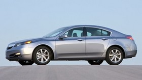 acura, 2011, metallic blue, side view, style, acura, tl, auto, sky - wallpapers, picture