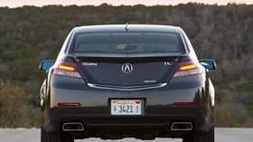 acura, 2011, blue, rear view, style, acura, tl, auto, forest, nature - wallpapers, picture