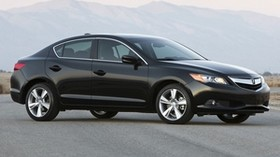 acura, black, sedan, style, acura, ilx, side view, auto, nature - wallpapers, picture