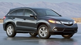 acura, black, side view, jeep, auto, acura, rdx, 2012, nature, mountains - wallpapers, picture