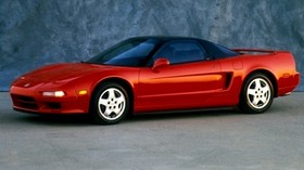 acura, red, sport, side view, auto, style - wallpapers, picture