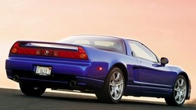 acura, nsx, blue, rear view, style, acura, nsx, sports, auto, sunset - wallpapers, picture