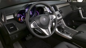 acura, salon, interior, acura, rdx, steering wheel, speedometer - wallpapers, picture