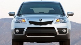 acura, silver metallic, jeep, front view, acura, rdx, auto, style, mountains - wallpapers, picture
