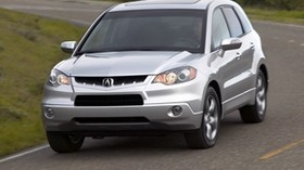 acura, silver metallic, jeep, front view, acura, rdx, auto, style, nature - wallpapers, picture