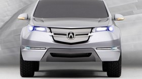 acura, silver metallic, jeep, front view, style, acura, mdx, concept car, car - wallpapers, picture