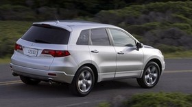 acura, silver metallic, jeep, rear view, style, acura, rdx, auto, nature, speed - wallpapers, picture