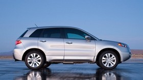 acura, silver metallic, side view, jeep, acura, rdx, style, auto, reflection, wet asphalt - wallpapers, picture