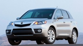 acura, silver metallic, front view, jeep, acura, rdx, auto - wallpapers, picture