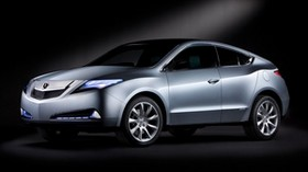 acura, zdx, concept, metallic, acura - wallpapers, picture