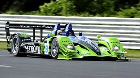 acura, green, blue, movement, sport, side view, track, pilot, acura, arx-01, auto - wallpapers, picture