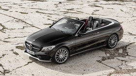amg, mercedes-benz, c-class, a205, convertible - wallpapers, picture