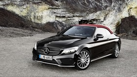 amg, mercedes-benz, c-class, convertible - wallpapers, picture