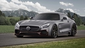 amg, mercedes-benz, gt3, c190, side view - wallpapers, picture