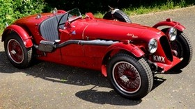 aston martin, 1939, red, side view, style, auto, aston martin, retro - wallpapers, picture