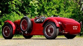 aston martin, 1939, red, side view, style, retro, aston martin, auto - wallpapers, picture