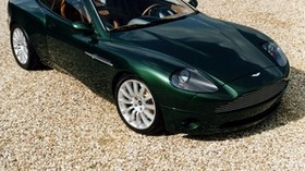 aston martin, 1998, green, top view, concept car, car - wallpapers, picture