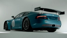 aston martin, 2005, green, rear view, style, aston martin, dbrs9, sports, car - wallpapers, picture