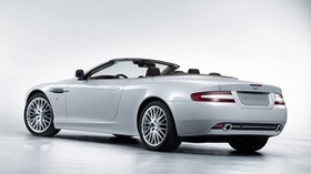 aston martin, 2008, white, side view, style, aston martin, db9, car - wallpapers, picture