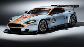 aston martin, 2008, white, side view, style, sport, aston martin, dbr9, auto, racing car - wallpapers, picture
