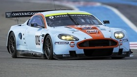 aston martin, 2008, white, front view, style, sport, aston martin, dbr9, auto, race car, track - wallpapers, picture