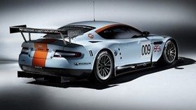 aston martin, 2008, white, rear view, style, auto, aston martin, dbr9, sport - wallpapers, picture