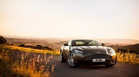 aston martin, db11, front view - wallpapers, picture