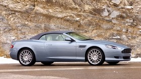 aston martin, db9, 2004, blue, side view, style, auto, rock - wallpapers, picture