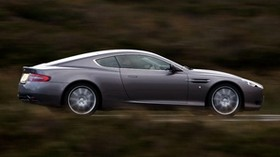 aston martin, db9, 2004, gray, side view, style, aston martin, auto, speed, nature - wallpapers, picture