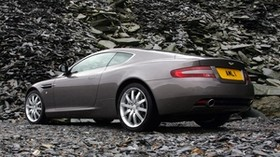 aston martin, db9, 2004, gray, side view, style, car - wallpapers, picture